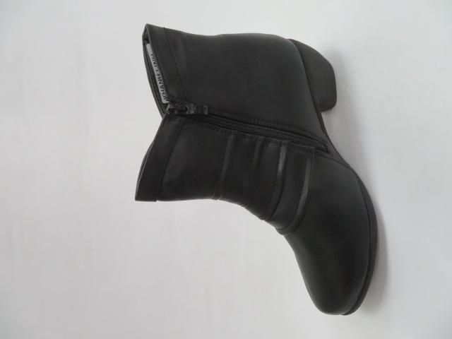 Botki Damskie NZ08, Black, 36-41 2
