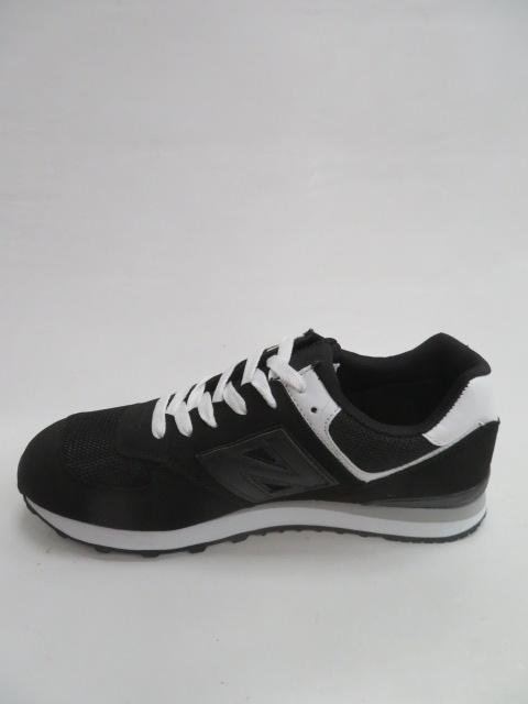 Buty Sportowe Męskie AB670 , Black/White, 41-46