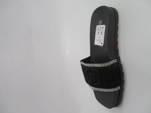 Klapki Damskie 555, Black, 36-41 2