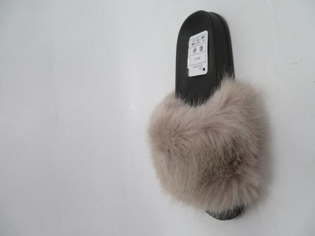 Klapki Damskie N-88, Beige, 36-41 2