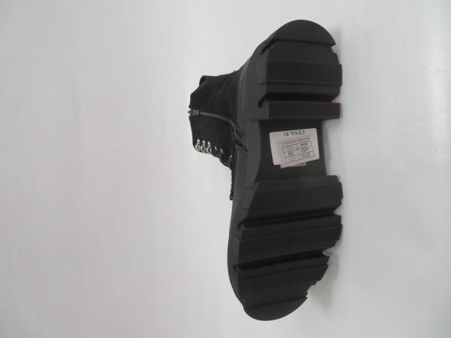 Botki Damskie 8502, Black, 36-41 3