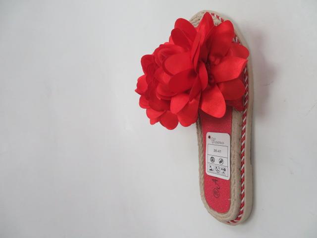 Klapki Damskie N-73, Red, 36-41