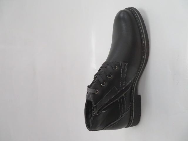 Trzewiki Męskie Zimowe 919, Black/Grey, 41-46 4