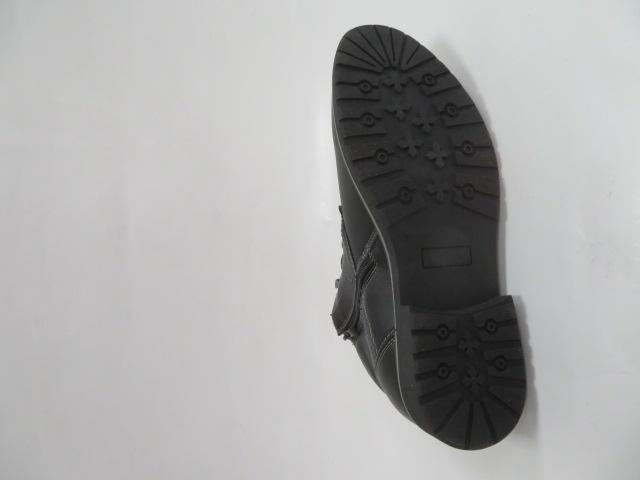 Trzewiki Męskie Zimowe 919, Black/Grey, 41-46 3