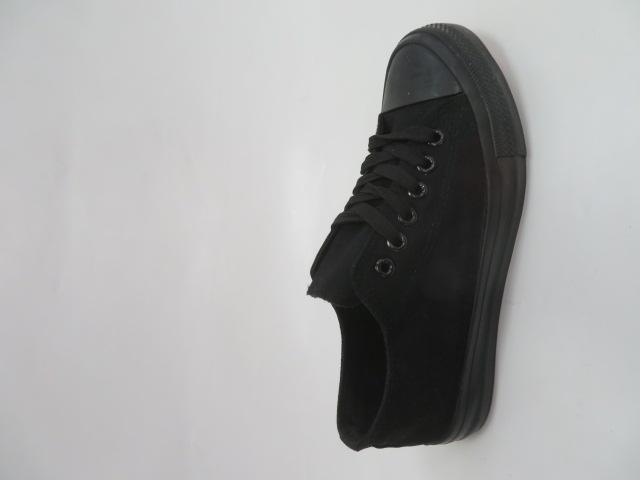 Trampki Damskie 8A07, All Black, 36-41