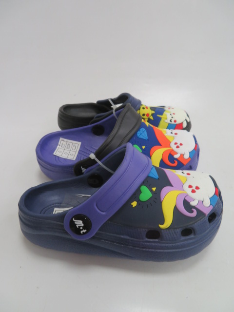 Klapki Dziecięce T001-1, Mix 3 color, 25-30