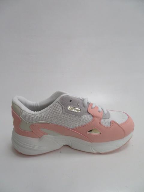 Sportowe Damskie R-02 ,White/Pink , 36-41