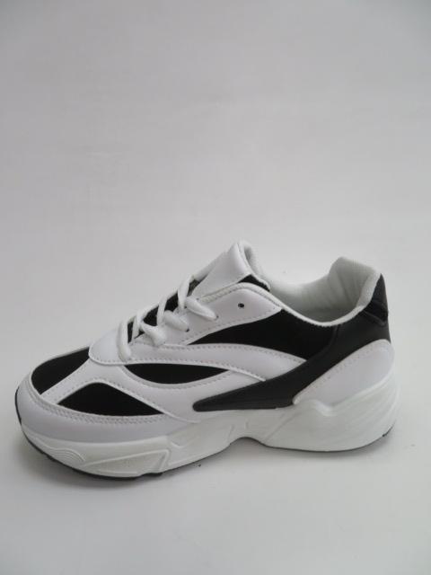 Sportowe Damskie R03, Black/White , 36-41