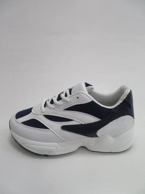 Sportowe Damskie R03, White/Blue , 36-41