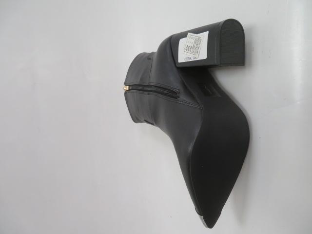 Botki Damskie p304, Black, 36-41 2