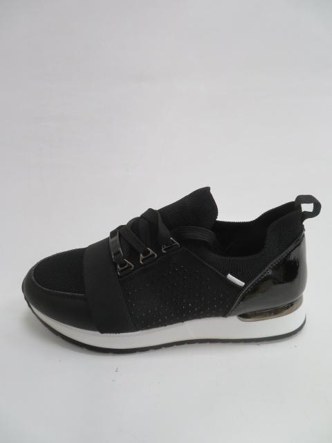 Sportowe Damskie BO-665, Black, 36-41