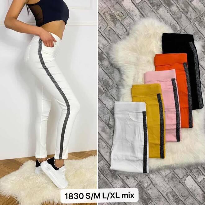 Spodnie damskie 1830  MIX KOLOR S/ML/XL
