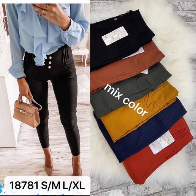 Spodnie damskie 18781 MIX KOLOR S-XL