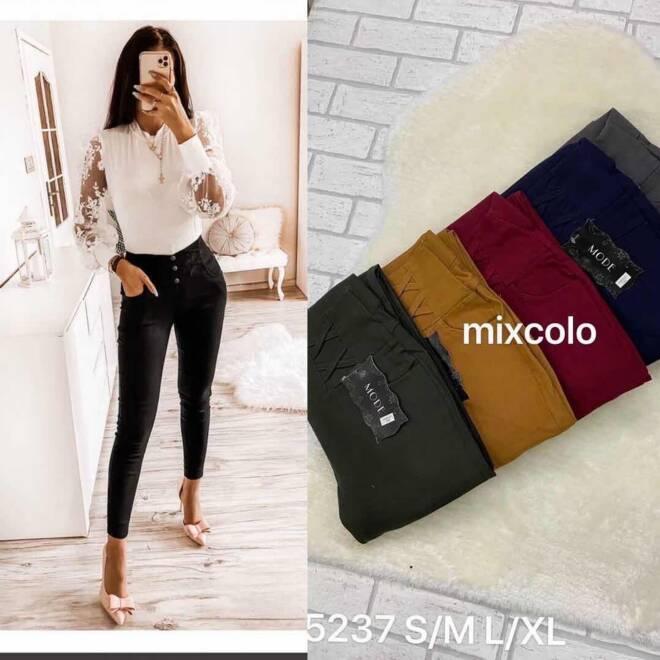 Spodnie damskie 5237 MIX KOLOR S-XL
