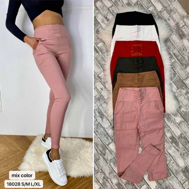 Spodnie damskie 1835 MIX KOLOR S-XL 1