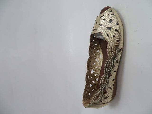 Baleriny Damskie H609, Gold, 36-41