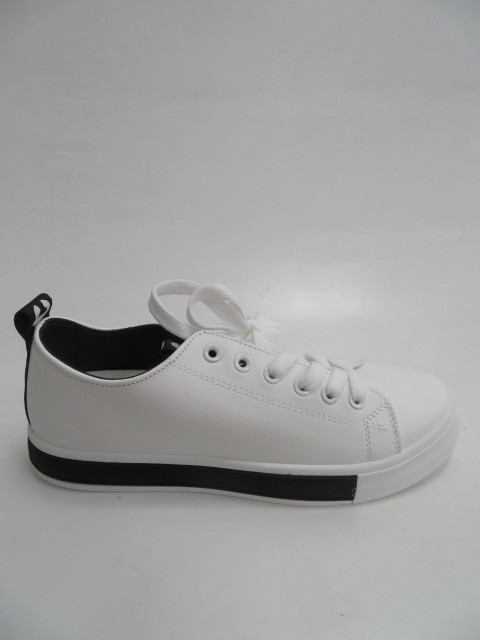 Trampki Damskie  BK21, White/Black, 36-41