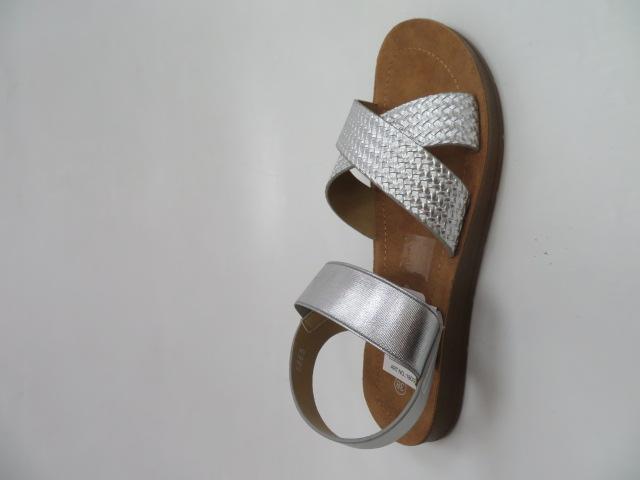 Sandały Damskie 5865, Silver, 36-41