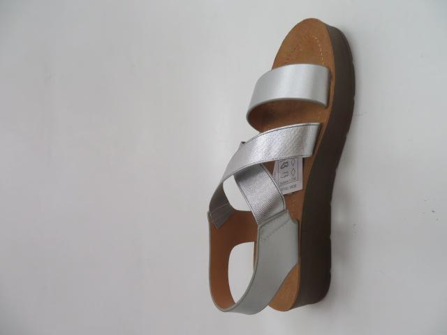 Sandały Damskie 1458, Silver, 36-41
