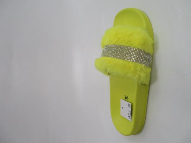 Klapki Damskie 44525, Yellow, 36-41