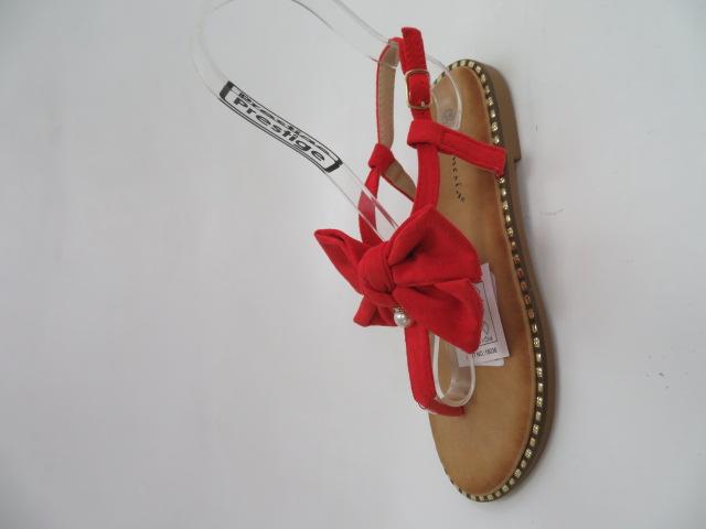 Sandały Damskie N-102, Red, 36-41