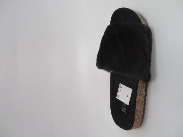 Klapki Damskie JE7012, Black, 36-41