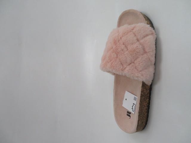Klapki Damskie JE7012, Pink, 36-41