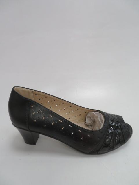 Czółenka Damskie 396-1, Black, 36-41