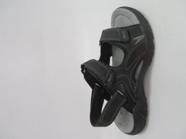 Sandały Męskie 702, Black, 41-46