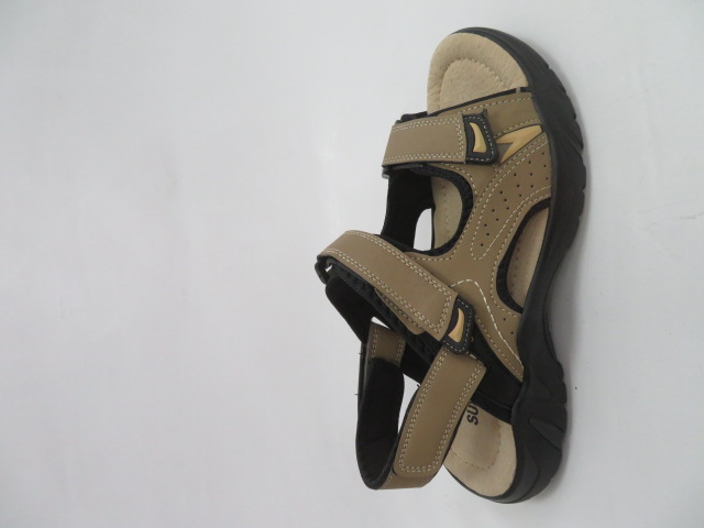 Sandały Męskie 702, Beige, 41-46