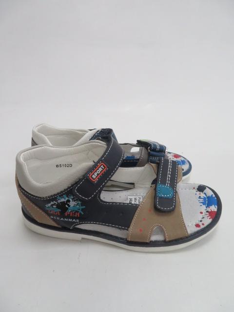 Sandały Dziecięce BS102D, Mix 2 color, 26-31