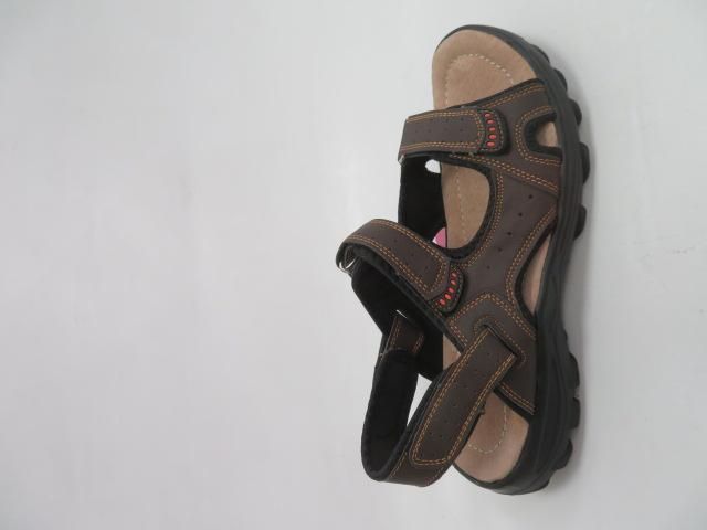 Sandały Męskie 701, Brown, 41-46