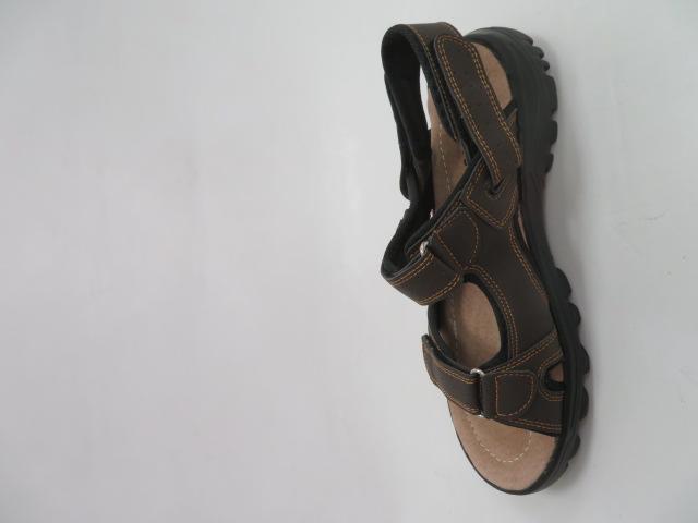 Sandały Męskie 701, Brown, 41-46 2