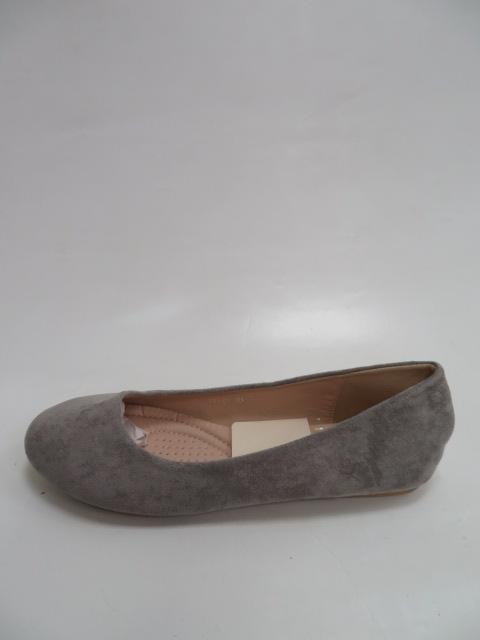 Baleriny Damskie FLL-01, Grey , 36-41