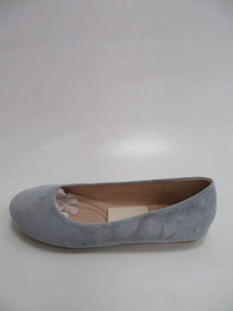 Baleriny Damskie FLL-01 , Blue,  36-41