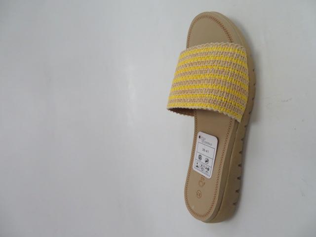 Klapki Damskie 809, Yellow, 36-41