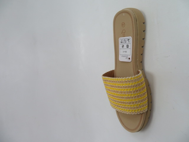 Klapki Damskie 809, Yellow, 36-41 3