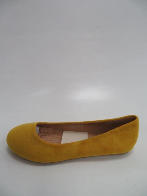 Baleriny Damskie F2078-12B, Yellow, 36-41