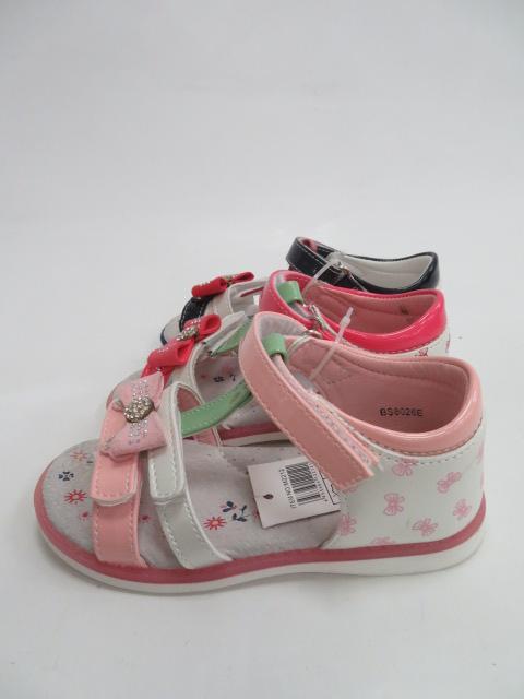 Sandały Dziecięce BS8026E , Mix 3 color, 21-26