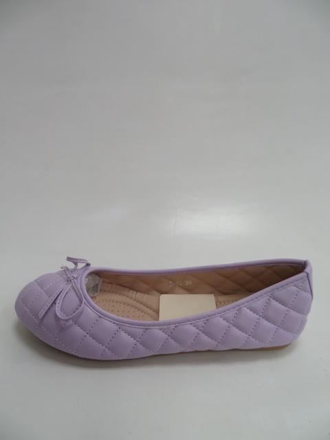 Baleriny Damskie FLL-02, Purple, 36-41