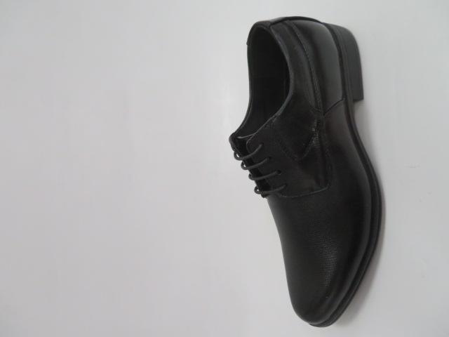 Półbuty Męskie MXC427,Black/Black , 40-45