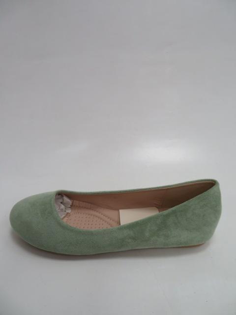 Baleriny Damskie FLL-01, Green, 36-41