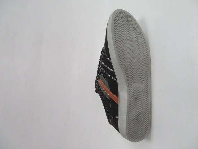 Trampki Męskie E2889-1, Black, 41-46 3