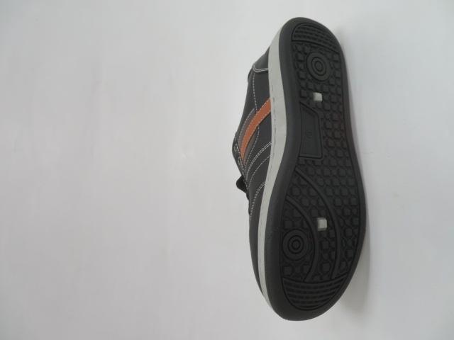 Trampki Męskie E607-1, Black, 41-46 3