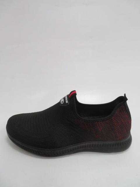 Buty Sportowe Męskie FHY-11-2, Black/Red, 40-45