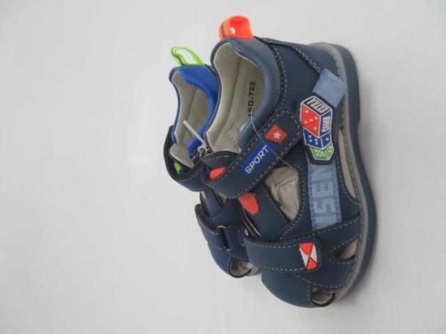 Sandały Dziecięce 1SD 722, Mix 2 color, 21-26 2