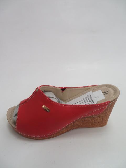 Czółenka Damskie 7AA908-1A, Red, 36-41