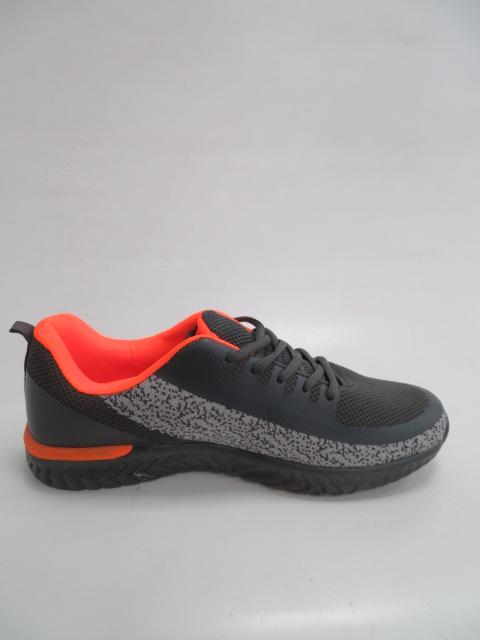 Buty Sportowe Męskie FRY-22, D.Grey/LGrey/Orange , 41-46