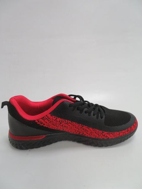 Buty Sportowe Męskie FRY-22, Black/Red , 41-46