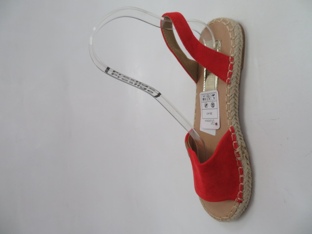 Sandały Damskie ZZ-18, Red, 36-41